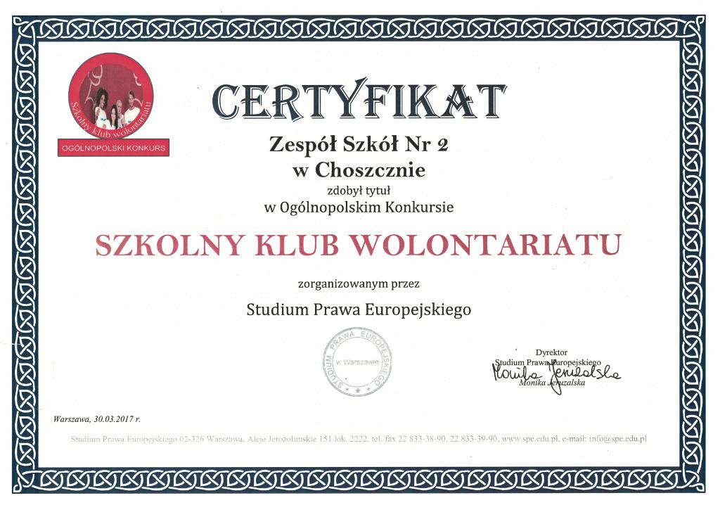 Szkolny Klub Wolontariatu-m