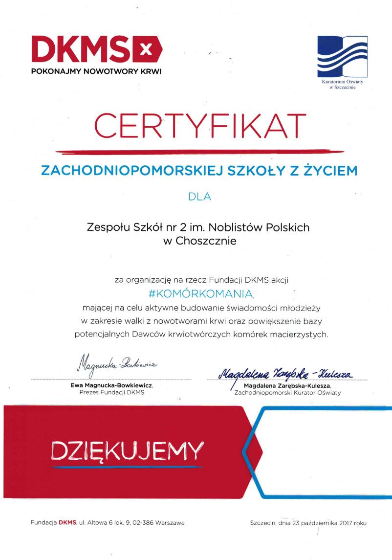 ZS 2 komórkomania