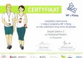 WF zKlasą Certyfikat