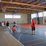 Hala sportowa - wnętrze